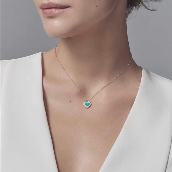 ad532a9f4 Tiffany & Co. Jewelry   Tiffany Co Love Heart Necklace Bracelet ...